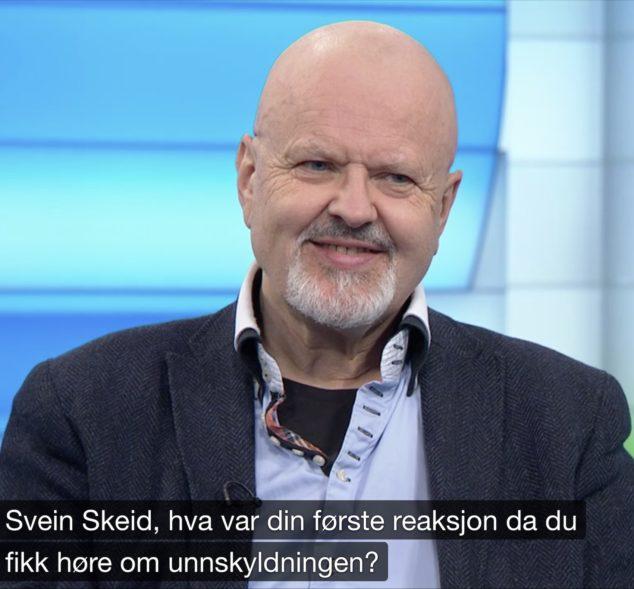 Svein Skeid på NRK Dagsrevyen 12.6.2019.